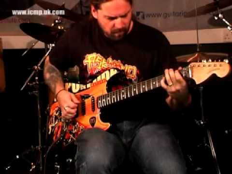 Andreas Kisser Sepultura Guitar Clinic At The Institute