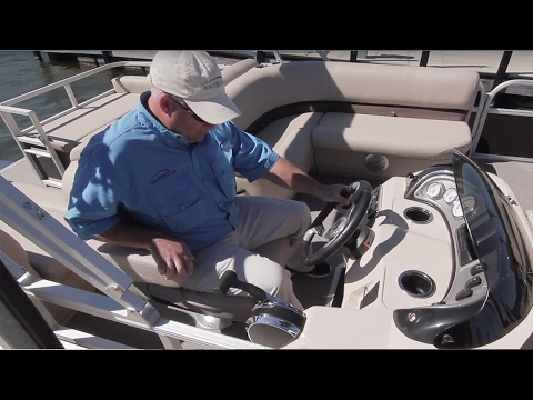 SUN TRACKER Boats 2017 PARTY BARGE 22 DLX Full Review By