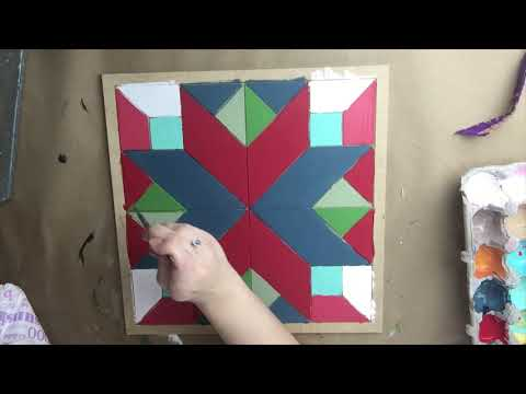 Wooden Craft Wood Barn Quilt, Unfinished Wall Decor, Paintable