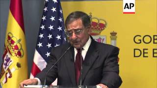 Panetta meets Spanish counterpart, comment on defence budget, Mali