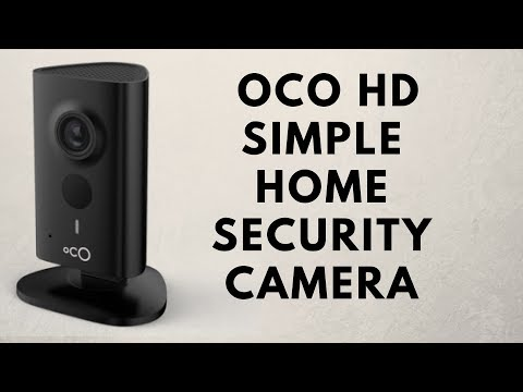OCO HD WiFi IP Security Camera Review