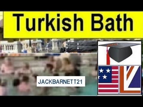 Glimpse intoTurkish Bath Budapest Hungary
