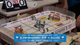 Настольный хоккей-Table hockey-WCh-2011-DMITRICHENKO-GALUZO-Game7-comment-TITOV
