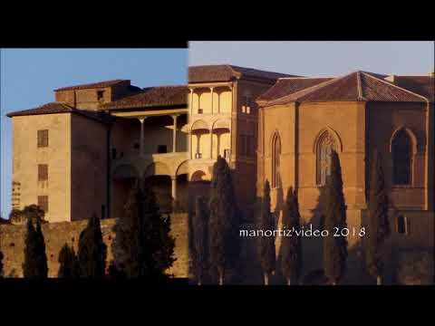 Pienza, Palazzo Piccolomini - The Piccolomini Palace designed by Rossellino (manortiz)