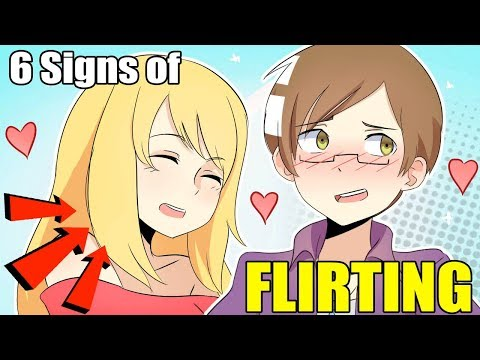 6 SIGNS OF FLIRTING! | Animation