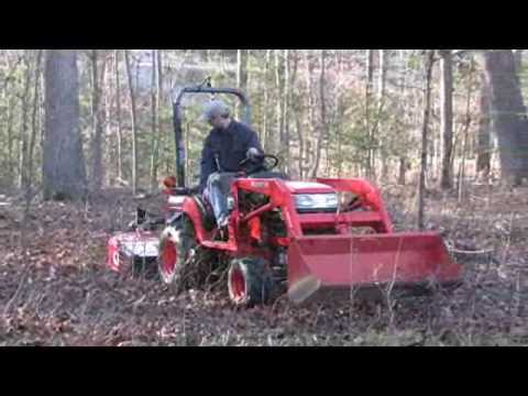 how to clear underbrush in woods
