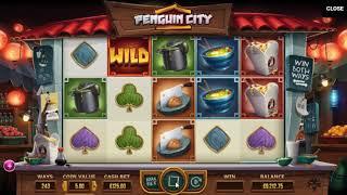 Игровой автомат Penguin City (Yggdrasil Gaming)