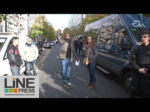 Un policier en colère convoqué devant l'IGPN / Paris - France 03 novembre 2016