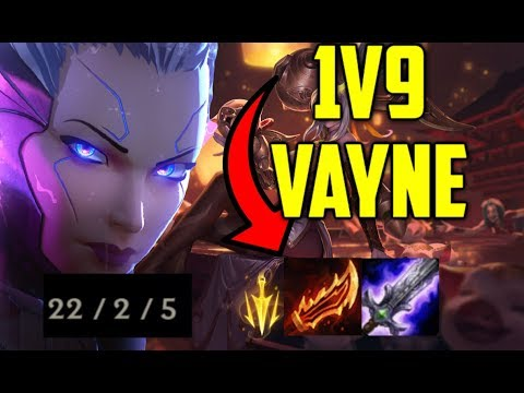 Vaysu | 1VS9 CARRY AS VAYNE - LEAGUE OF LEGENDS thumbnail