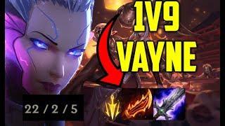 Vaysu | 1VS9 CARRY AS VAYNE - LEAGUE OF LEGENDS