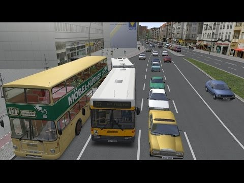 Omsi 2 Addon- Three Generation Bendy bus 1999 Route 137 Rathus Spandau