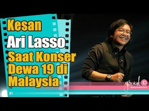 Kesan Ari Lasso Pada Konser Dewa 19 Di Malaysia
