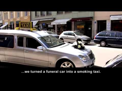 Smoking Taxi   Rauchertaxi in München und Berlin