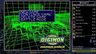 "Digimon World - ""100 Prosperity"" Speedrun (Real Time Attack) in 3:26:01"