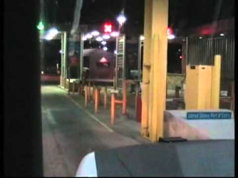 Border Crossing Into The USA at Sweetgrass Montana - coutts-crossing