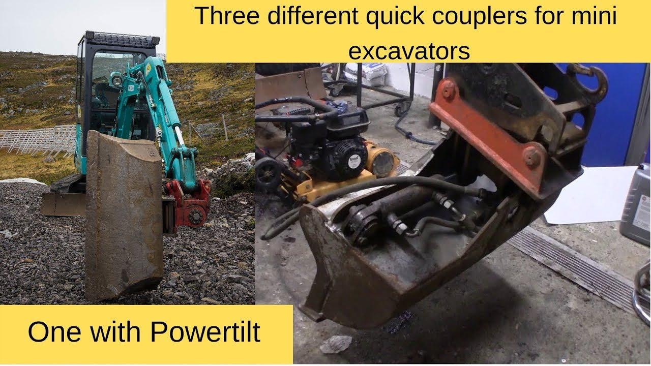 Mini Excavator Bucket Interchange??   Heavy Equipment Forums