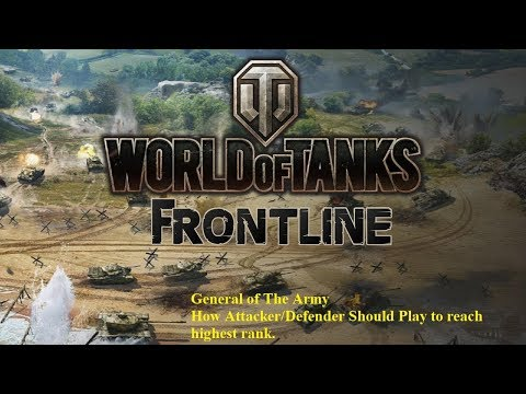 World of Tanks - Frontline - General of the Army