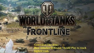 Easy Get General title in Frontline - World of Tanks
