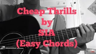 Download Hindi Video Songs - Sia - Cheap Thrills // very easy guitar chords