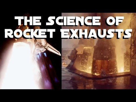 Why Rocket Exhausts Look The Way They Do