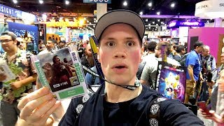 san diego comic con 2018 blu ray and toy hunting adventure