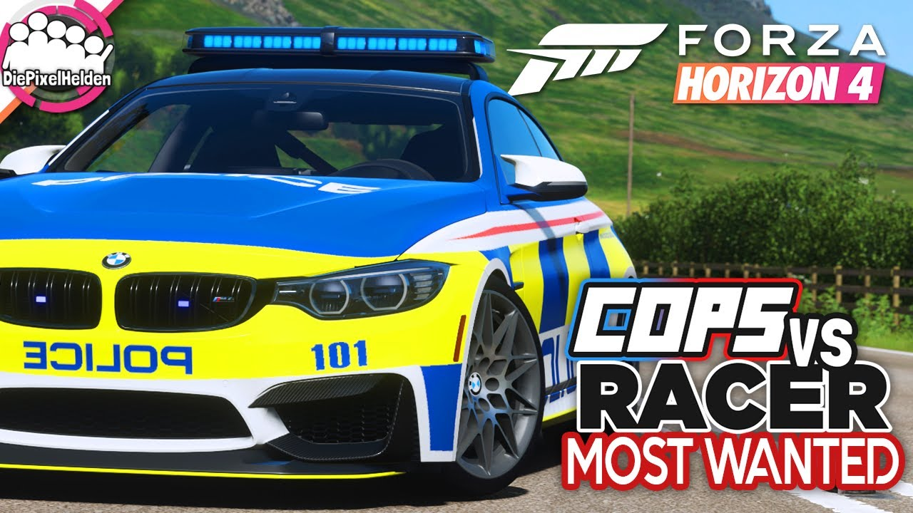 FORZA HORIZON 4 - COPS vs RACER Most Wanted : So Spannend 😲 - Forza Horizon 4 MULTIPLAYER