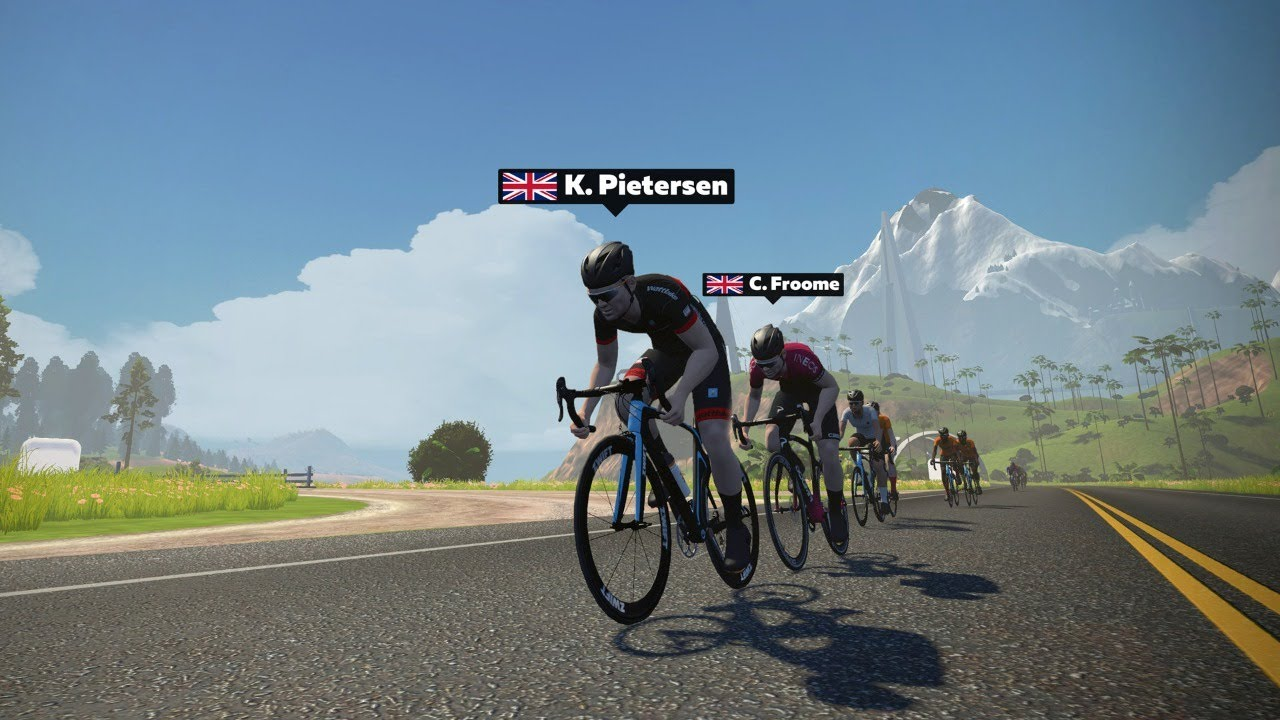 The Race: Wheels for Heroes - Chris Froome chases Kevin Pietersen, Andrew Flintoff, Melanie C &