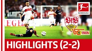Relegation Battle 2019 - Union Berlin Shocks VFB Stuttgart - Gomez Goal Is Not Enough - Highlights