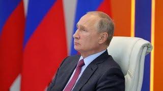 Владимир Путин принимает участие в заседании ВЕЭС в Ереване. Полное видео