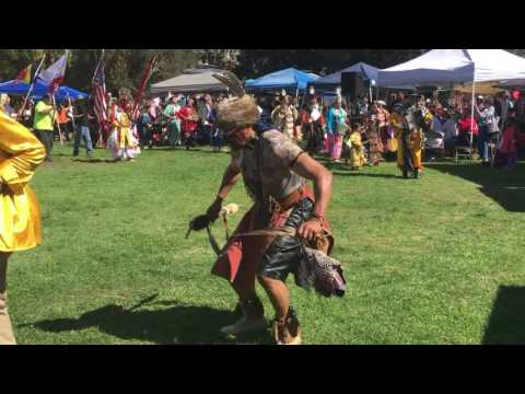24th Annual Pow Wow Celebration in Berkeley 2016 - Grand Entry
