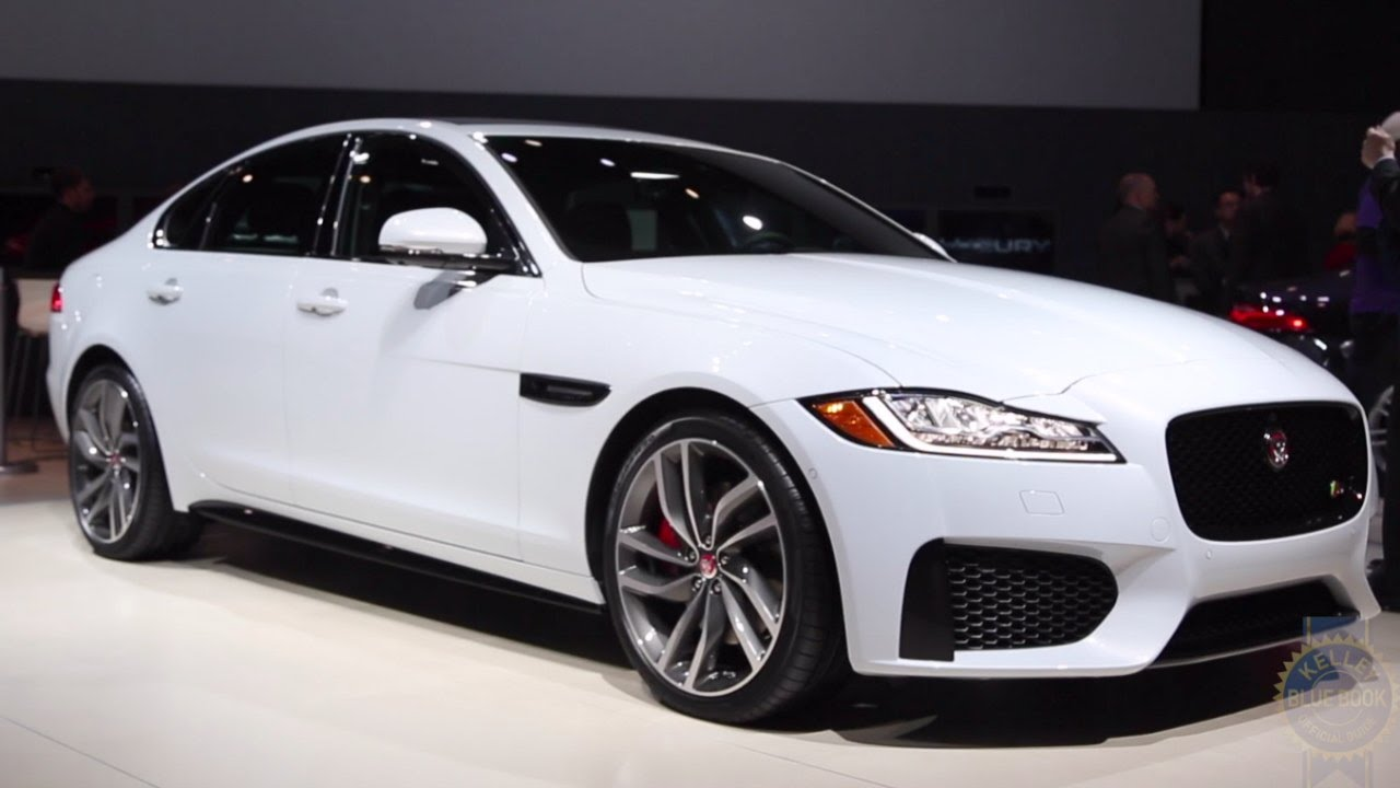 2016 jaguar xf 2015 new york auto show youtube. Black Bedroom Furniture Sets. Home Design Ideas