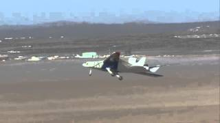 Transformed X-48C Takes to the Air on First Flight