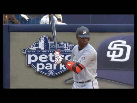 【メジャー】#17 Miami Marlins VS San Diego Padres【MLB The Show 17】