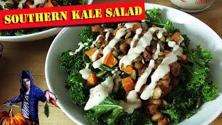 Southern Kale Salad & Smokey Ranch Dressing