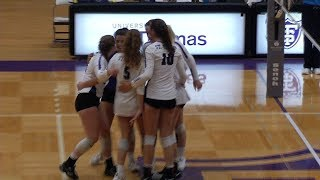 Local Players Star for St. Thomas Women's Volleyball