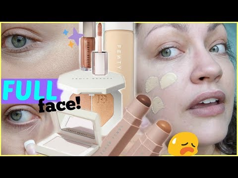 FENTY BEAUTY By Rihanna | FULL FACE First Impressions