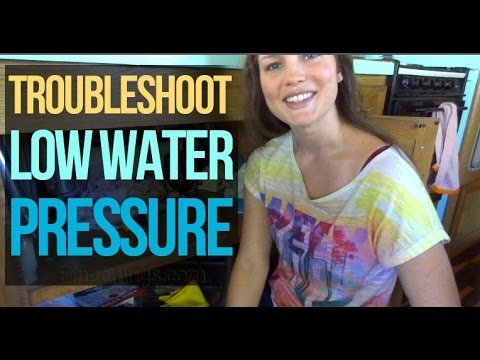 RV Living: Troubleshoot Low Water Pressure in One Sink Only