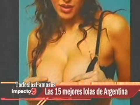 Impacto 9-Las 15 Mejores Lolas De Argentina-Andrea Rincón-20.05.12
