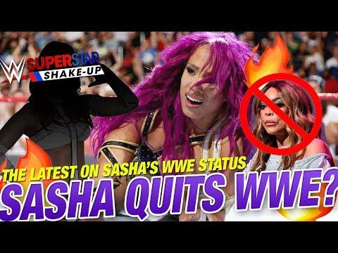 Sasha Banks To Quit WWE? Call Up Rumor For WWE Shake Up!  | Women's Wrestling News And Rumors