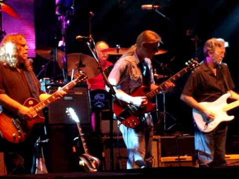 Eric Clapton Amp The Allman Brothers Band In Memory Of