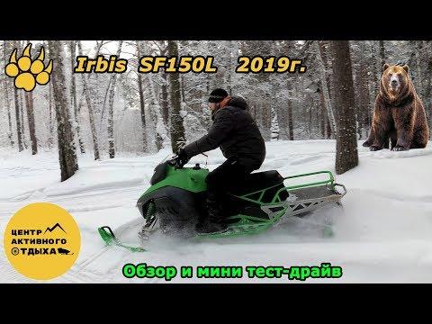 Снегоход Irbis SF150L 2019г. Что скрывается под новым обликом? Обзор и мини тест-драйв