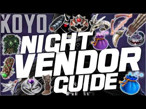 Black Desert Online   Night Vendor Guide
