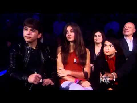 Katherine prince and paris Jackson speak on xfactor