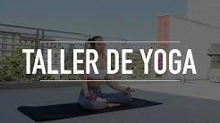 Taller de Yoga en el Área de la Mujer de la CCE