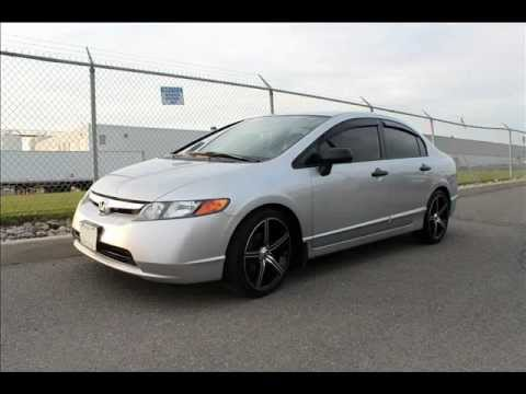 2008 Honda Civic With 18 Quot Enkei Str 5 Rims Photos Only