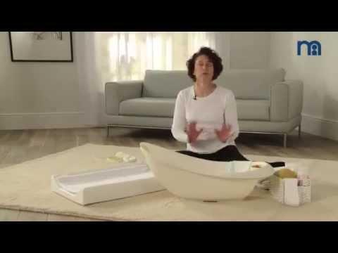 ▶ How To Bath Your Newborn Baby   Mothercare Bathtime Advice