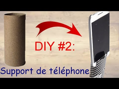 COMMENT FAIRE UN SUPPORT DE TELEPHONE / DrawMyWay DIY# 2