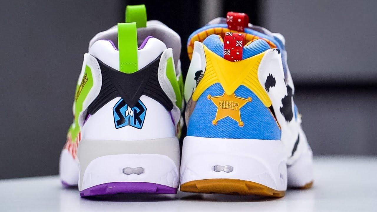 Toy Story x Bait x Reebok