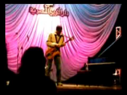 Stanley Jordan performs at the Cairo Opera House 1/4