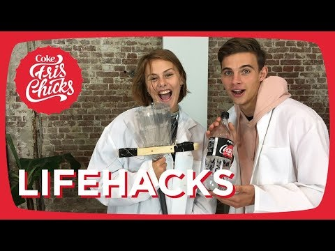 LIFEHACKS testen met SUUS & WATERSTUNTEN met ROMY! - FrisChicks #29